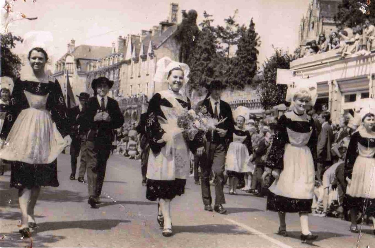 KAE_1967_Archives_008_Quimper_Fêtes de Cornouaille